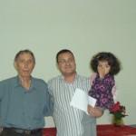 Luiz, Marcio e sua filha