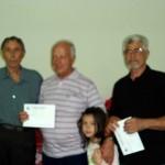Luiz, Claudemiro c/ sua neta Isabela e Antonio