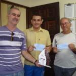José Benjamin, Leandro e José Bonifácio